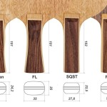 Table tennis blade handle types