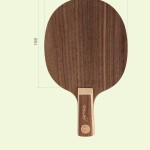 Table tennis blades head shape and size