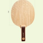 Table tennis blades head shape